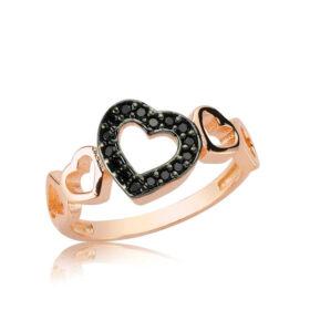 gumus siyah kalpli yuzuk kalpli yzkler gumush 27404 30 B